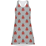 Ladybugs & Chevron Racerback Dress (Personalized)