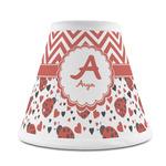 Ladybugs & Chevron Chandelier Lamp Shade (Personalized)