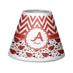 Ladybugs & Chevron Chandelier Lamp Shade (Personalized)