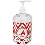 Ladybugs & Chevron Soap / Lotion Dispenser (Personalized)