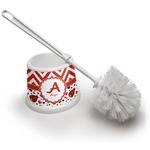 Ladybugs & Chevron Toilet Brush (Personalized)