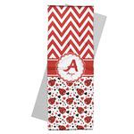 Ladybugs & Chevron Yoga Mat Towel (Personalized)