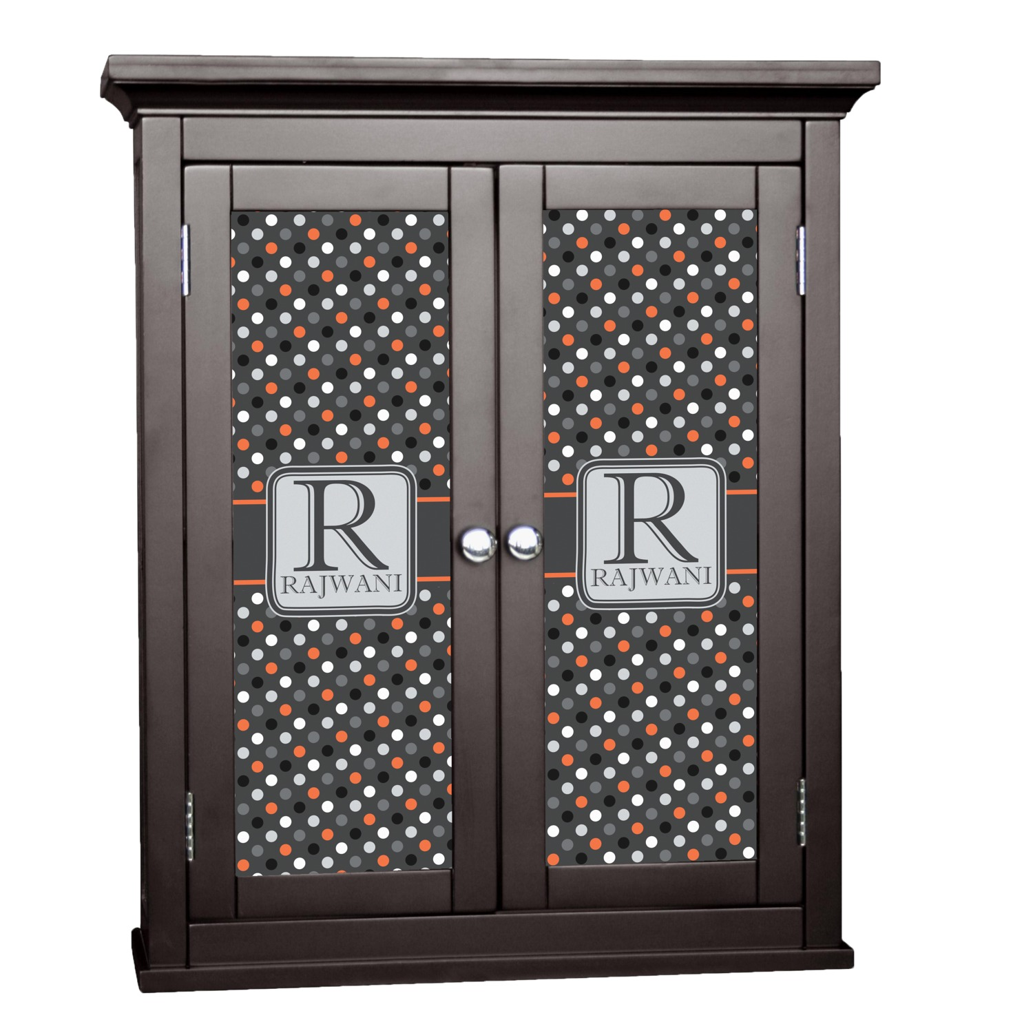 gray dots cabinet decal large personalized With kitchen cabinets lowes with car stickers for girls