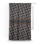 Gray Dots Curtain (Personalized)
