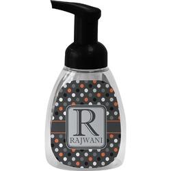 Gray Dots Foam Soap Dispenser (Personalized)