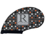 Gray Dots Golf Club Cover (Personalized)