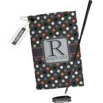 Gray Dots Golf Towel Gift Set (Personalized)