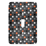 Gray Dots Light Switch Covers (Personalized)