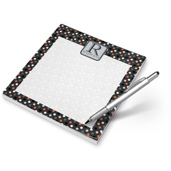 Gray Dots Notepad (Personalized)