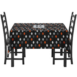 Gray Dots Tablecloth (Personalized)