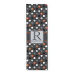Gray Dots Runner Rug - 3.66'x8' (Personalized)