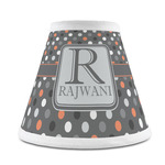 Gray Dots Chandelier Lamp Shade (Personalized)