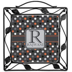 Gray Dots Trivet (Personalized)