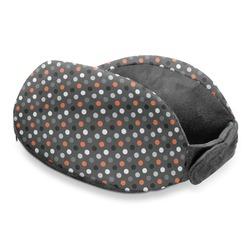 Gray Dots Travel Neck Pillow