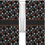 Gray Dots Curtains (2 Panels Per Set) (Personalized)