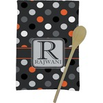 Gray Dots Kitchen Towel - Full Print (Personalized)