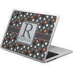 Gray Dots Laptop Skin - Custom Sized (Personalized)