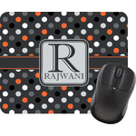 Gray Dots Mouse Pads (Personalized)