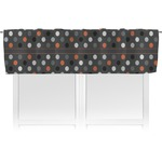 Gray Dots Valance (Personalized)