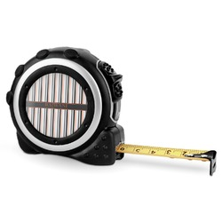 Gray Stripes Tape Measure - 16 Ft (Personalized)