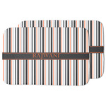 Gray Stripes Dish Drying Mat w/ Name or Text
