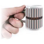 Gray Stripes Espresso Cups (Personalized)