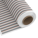 Gray Stripes Custom Fabric by the Yard (Personalized)