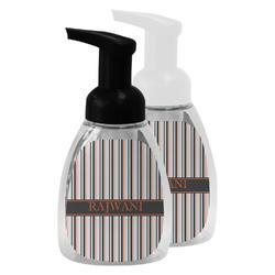 Gray Stripes Foam Soap Bottle (Personalized)