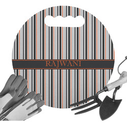 Gray Stripes Gardening Knee Cushion (Personalized)