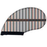 Gray Stripes Golf Club Cover (Personalized)