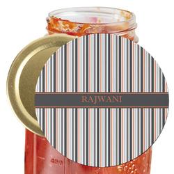 Gray Stripes Jar Opener (Personalized)
