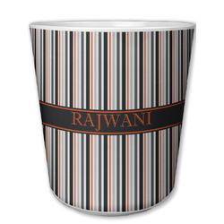 Gray Stripes Plastic Tumbler 6oz (Personalized)
