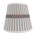 Gray Stripes Empire Lamp Shade (Personalized)