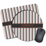 Gray Stripes Mouse Pads (Personalized)