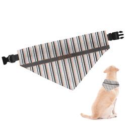 Gray Stripes Dog Bandana (Personalized)