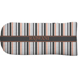 Gray Stripes Putter Cover (Personalized)