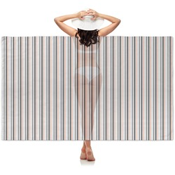Gray Stripes Sheer Sarong (Personalized)