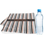 Gray Stripes Sports & Fitness Towel (Personalized)