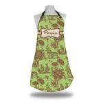 Green & Brown Toile Apron (Personalized)