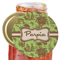 Green & Brown Toile Jar Opener (Personalized)
