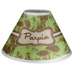 Green & Brown Toile Coolie Lamp Shade (Personalized)