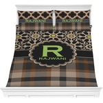 Moroccan Mosaic & Plaid Comforters (Personalized)