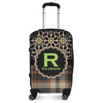 Moroccan Mosaic & Plaid Suitcase (Personalized)