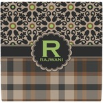 Moroccan Mosaic & Plaid Ceramic Tile Hot Pad (Personalized)