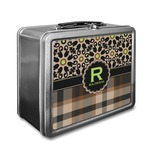 Moroccan Mosaic & Plaid Lunch Box (Personalized)