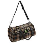 Moroccan Mosaic & Plaid Duffel Bag (Personalized)