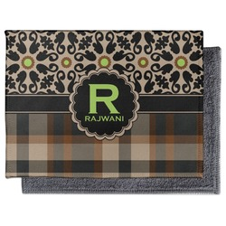 Moroccan Mosaic & Plaid Microfiber Screen Cleaner (Personalized)