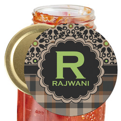 Moroccan Mosaic & Plaid Jar Opener (Personalized)