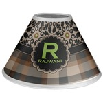 Moroccan Mosaic & Plaid Coolie Lamp Shade (Personalized)