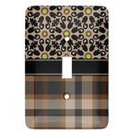 Moroccan Mosaic & Plaid Light Switch Covers (Personalized)